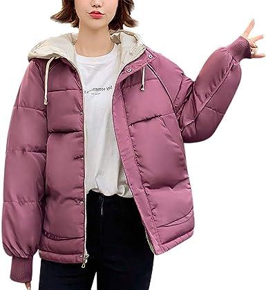 Clacce Abrigo de Invierno para Mujer, de algodón, Parka de ...