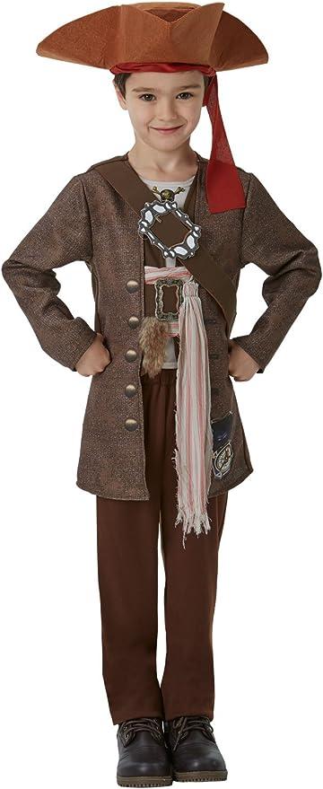 Piratas del Caribe - Disfraz de Jack Sparrow para niños, infantil ...