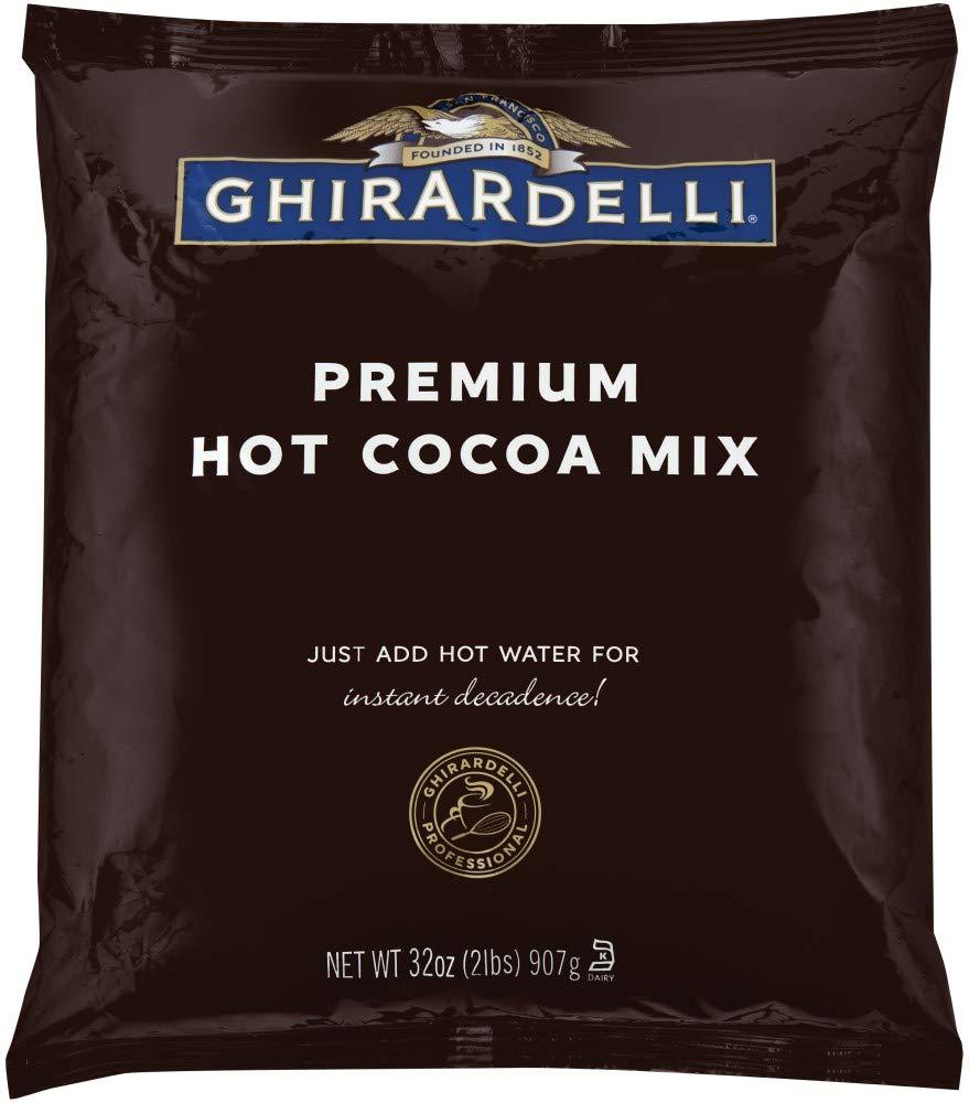 Ghirardelli Chocolate Premium Hot Cocoa, 2 lbs Package