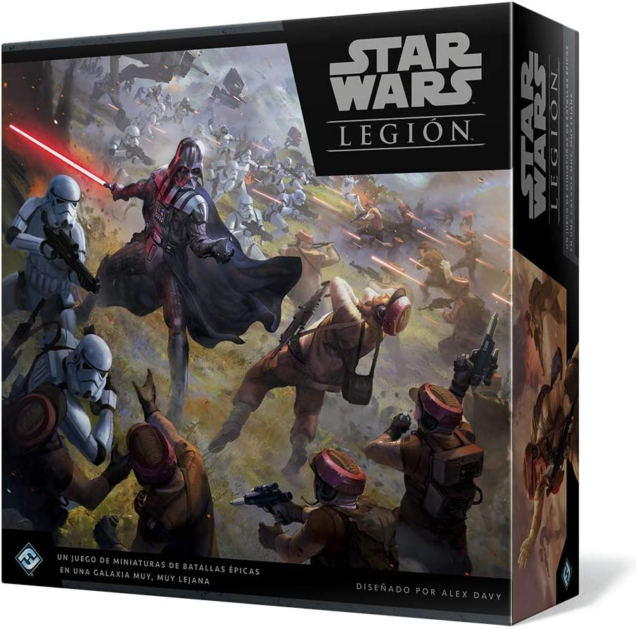Fantasy Flight Games - Star Wars Legión, Juego de mesa (FFSWL01 ...