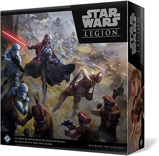Star Wars - Juego de mesa Legión + DVD Los Últimos Jedi: Amazon.es: Cine y Series TV