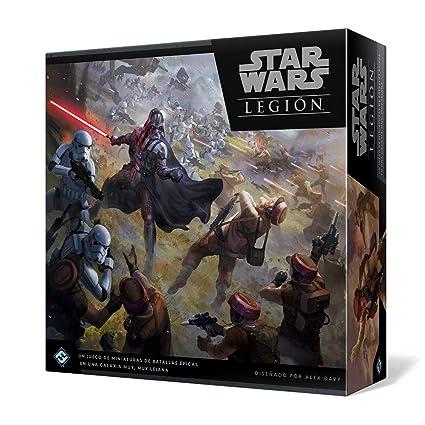 Star Wars - Juego de mesa Legión + DVD Los Últimos Jedi: Amazon.es ...
