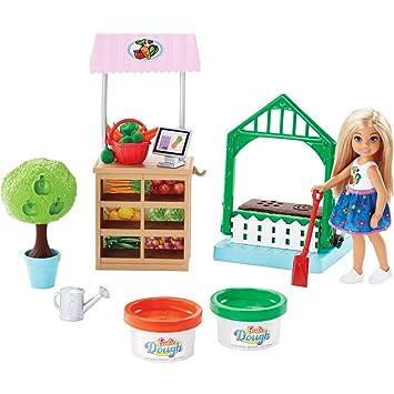 5c7acde29 Barbie Horta da Chelsea, Mattel, Loira: Amazon.com.br: Brinquedos e ...