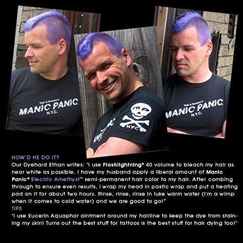 Manic Panic Electric Amethyst Hair Color Cream