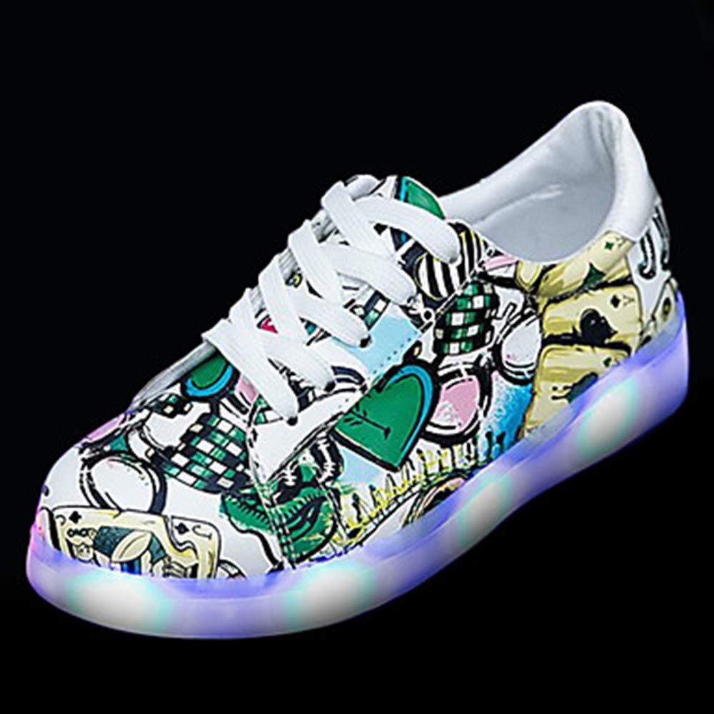 TTSHOES pour Femme Rond Chaussures PU (polyuréthane) Printemps Light pour Talon Up Chaussures Sneakers Plat Talon Bout Rond Noir/Vert Green 4189226 - automaticcouplings.space