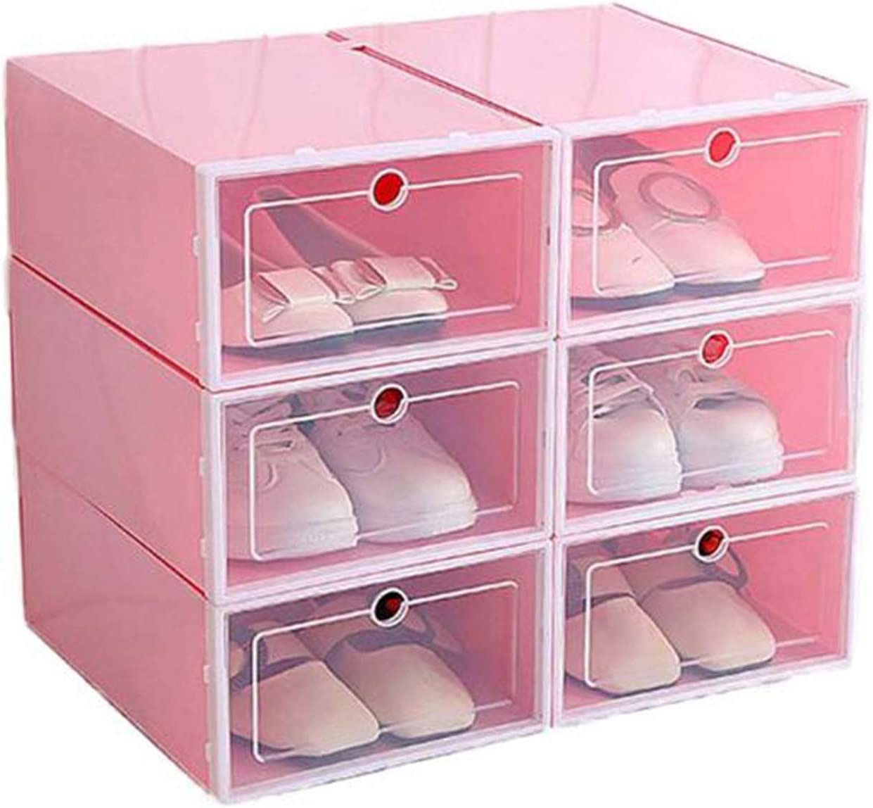 Amazon.com 20PCS Multi Function Clear Plastic Container Drawer ...