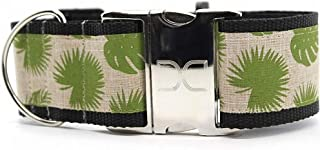 "product image for Diva-Dog 'Rain Forest' 2"" Extra Wide Custom Engraved Dog Collar"