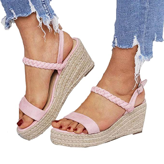 334b863306a69 Amazon.com: Amlaiworld Women Wedges Sandals Shoes Flats Open Toe ...