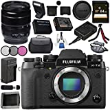 Fujifilm X-T2 Mirrorless Digital Camera (Body Only) 16519247 + Fujifilm XF 18-55mm f/2.8-4 R LM OIS Zoom Lens 16276479 Bundle