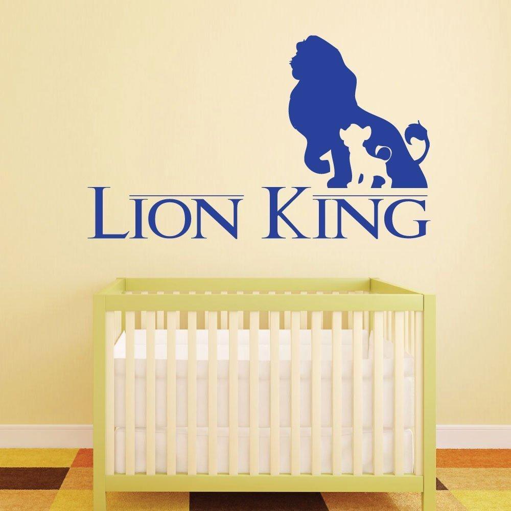 Amazon.com: Disney Home Decor - Vinyl Wall Decal, Lion King Stickers ...