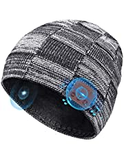HANPURE Bluetooth Beanie Gifts for Men Bluetooth Hat, Christmas Stocking Stuffers Electronic Tech Gifts for Women Teens