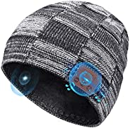 HANPURE Bluetooth Beanie Gifts for Men Bluetooth Hat, Christmas Stocking Stuffers Electronic Tech Gifts for Wo