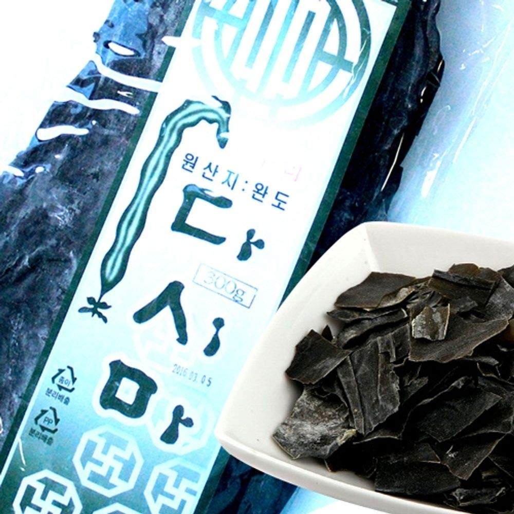 Korea Wando Dried Kelp 300g, Product of Korea 다시마