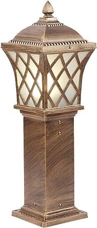 Lámparas de Pie Lámpara Vertical Piso Lámpara de pie Luz de jardín Luz de Paisaje Jardín de césped Exterior Lámpara de pie Lámpara Impermeable Lámpara de Calle pequeña: Amazon.es: Hogar