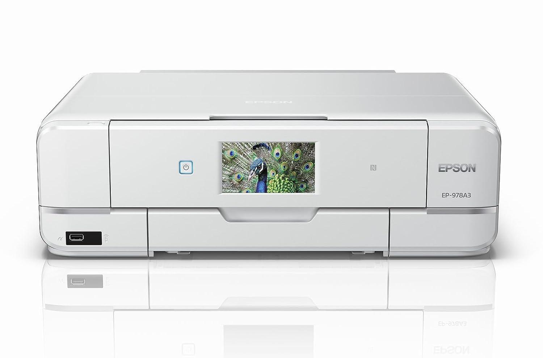 a8ef6ccef7 Amazon | EPSON プリンター インクジェット複合機 Colorio EP-978A3 A3対応 無線LAN Wi-Fi Direct  スマートフォンプリント | エプソン | パソコン・周辺機器 通販