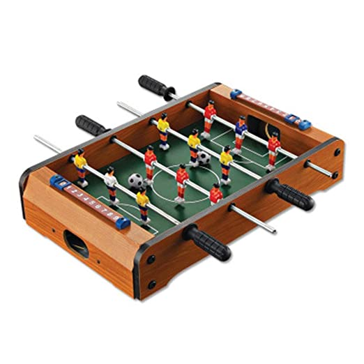 Mesa de billar plegable Fútbol Mini Mesa de madera de interior ...