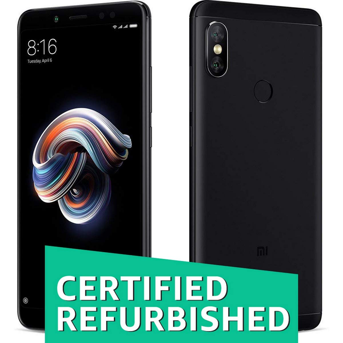 (Certified REFURBISHED) Redmi Note 5 Pro (Black)