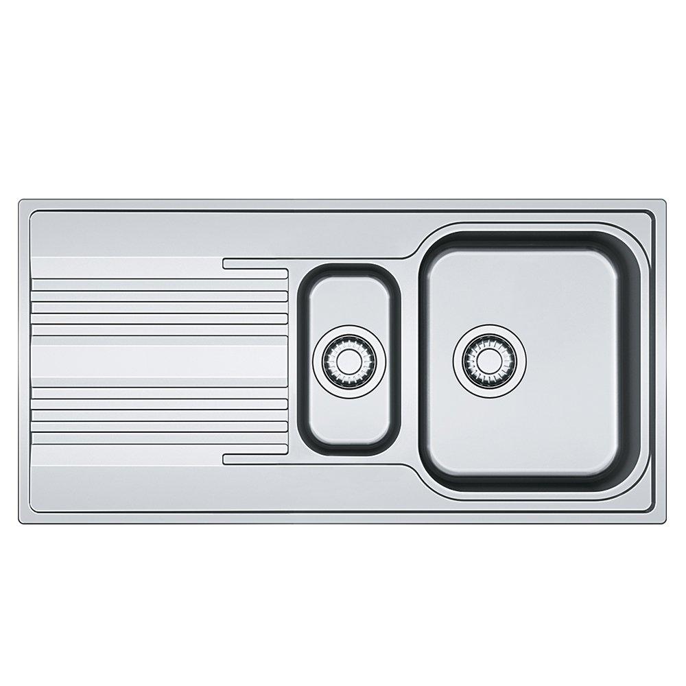 gris Franke 101.0368.322//évier de cuisine en acier inoxydable avec simple et demi Bol /à partir de Franke Smart SRX