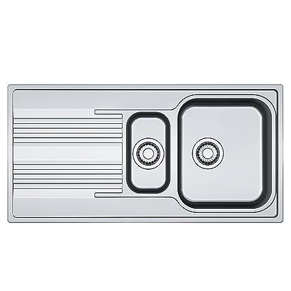 Franke 101.0368.322 lavello da cucina in acciaio INOX con singolo e ...