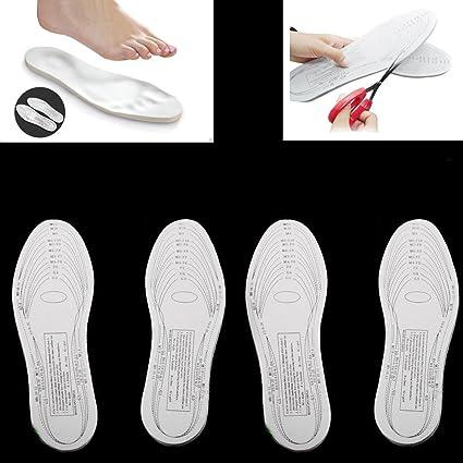 685a1106cc9f Amazon.com   2 Pairs Memory Foam Insoles Shoe Comfort Unisex Size ...