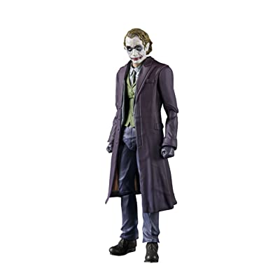 TAMASHII NATIONS Bandai S.H. Figuarts The Joker The Dark Knight Action Figure: Toys & Games