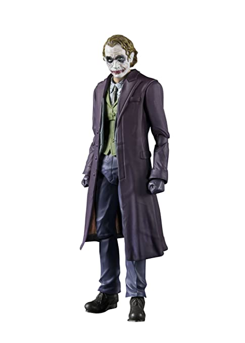 Bandai- SH Figurants Joker The Dark Knight Figura Articulada,, 20,3 cm (BAN14950)