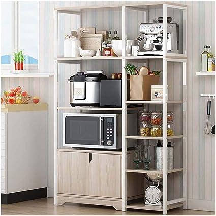 WLKDMJ - Estantería para Cocina, estantería de Cocina ...
