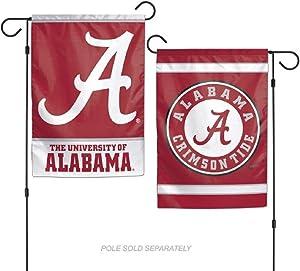NCAA Alabama Crimson Tide Garden Flag