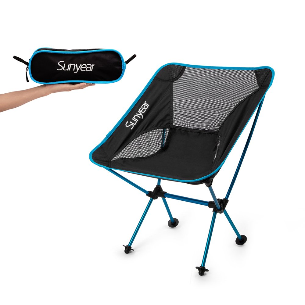 Innovative Foldable Camp Chair Stuck-Slip-Proof Feet Super Comfort Ultra Ligh.. 14