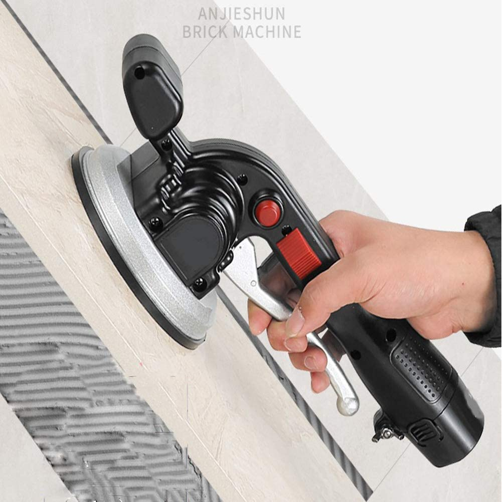 Herewegoo /Machine de nivellement Automatique Tenue dans la Main /électrique de vibrateur de tuile en c/éramique de niveleur de tuiles pour Le Mur de Plancher