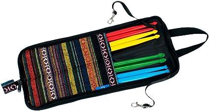 Dilwe Bolsa para Baquetas de Batería, Hanging Bag Baquetas Accesorios Bolsa de Mano: Amazon.es: Instrumentos musicales