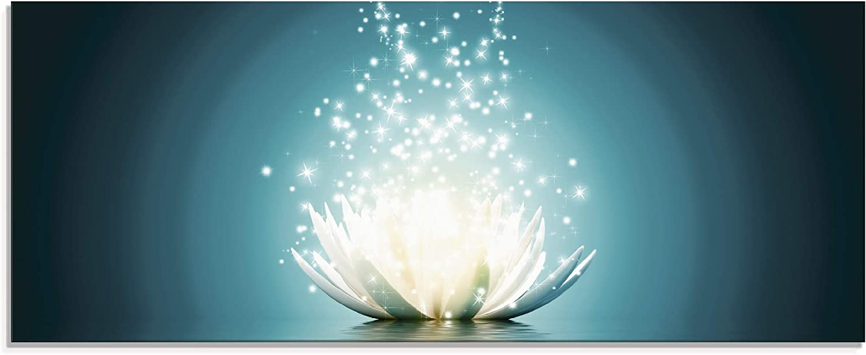 Glas-Bild Wandbilder Druck auf Glas 125x50 Deko Blumen /& Pflanzen Lotusblumen