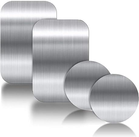 Ygkj 3m Kleber Metallplatte 4 Stück Metallplättchen Amazon De Elektronik