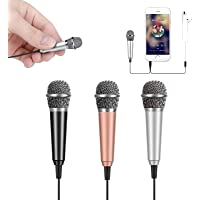 Mini Portable Vocal/Instrument Microphone for Mobile Phone Cell Phone Laptop Notebook Apple iPhone Android Smartphone…