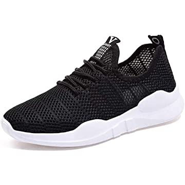 LEANO Fashion Women Casual Shoes Lace-Up Breathable Mesh Sport Running Shoes Fashion Sneakers