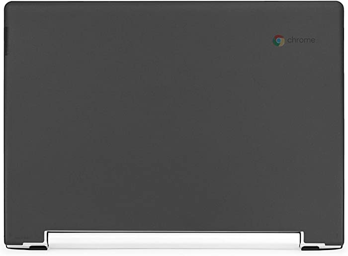 "mCover Hard Shell Case for Late-2018 11.6"" Lenovo C330 Series Chromebook Laptop (NOT Fitting Lenovo N21 N22 N23 N24 100E 300E 500E Flex 11 Yoga 11e Chromebook) (LEN-C330 Black)"