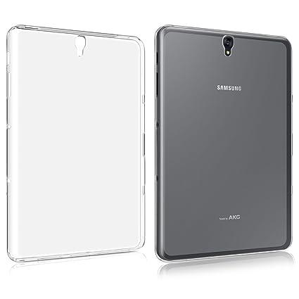 low cost e59c6 5f177 Samsung Galaxy Tab S3 9.7 Inch T825 Clear Case,iCoverCase Ultra Thin Clear  Transparent Case Anti-Slip Flexible SLIM-Fit Soft TPU Gel Skin Back Cover  ...