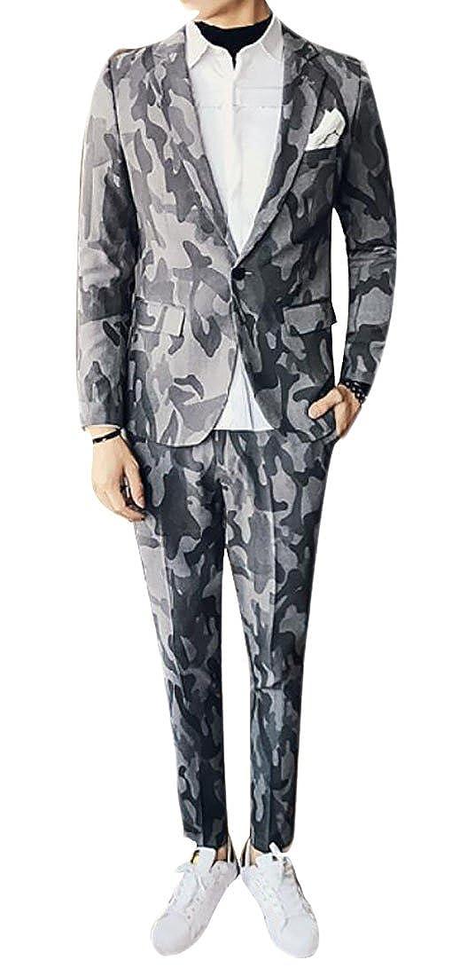 WSPLYSPJY-men clothes BLAZER メンズ B076HT9BXH  1 US Medium