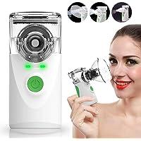 Elitte Nebulizador Portatil Inhalador Bebe Adulto USB Recargable Nebulizador para Inhalación De Medicamentos Líquidos