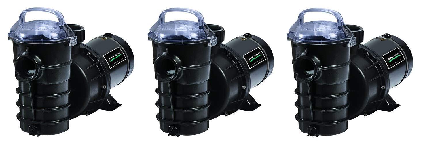 Pentair DYNII-N1-1HP Dynamo One Speed Aboveground Pool Pump 1 HP