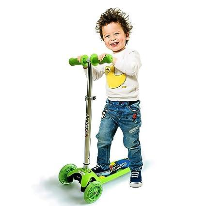 Amazon.com: Liyu 1281F Kick Scooter para niños y niñas ...