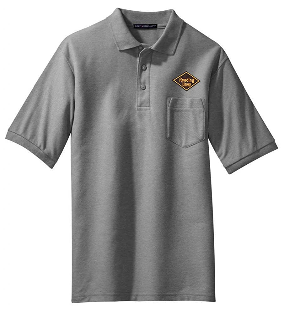 40 Reading Lines Railroad Embroidered Polo