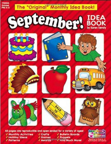 September Monthly Idea Book (The Original Monthly Idea Book!) ()