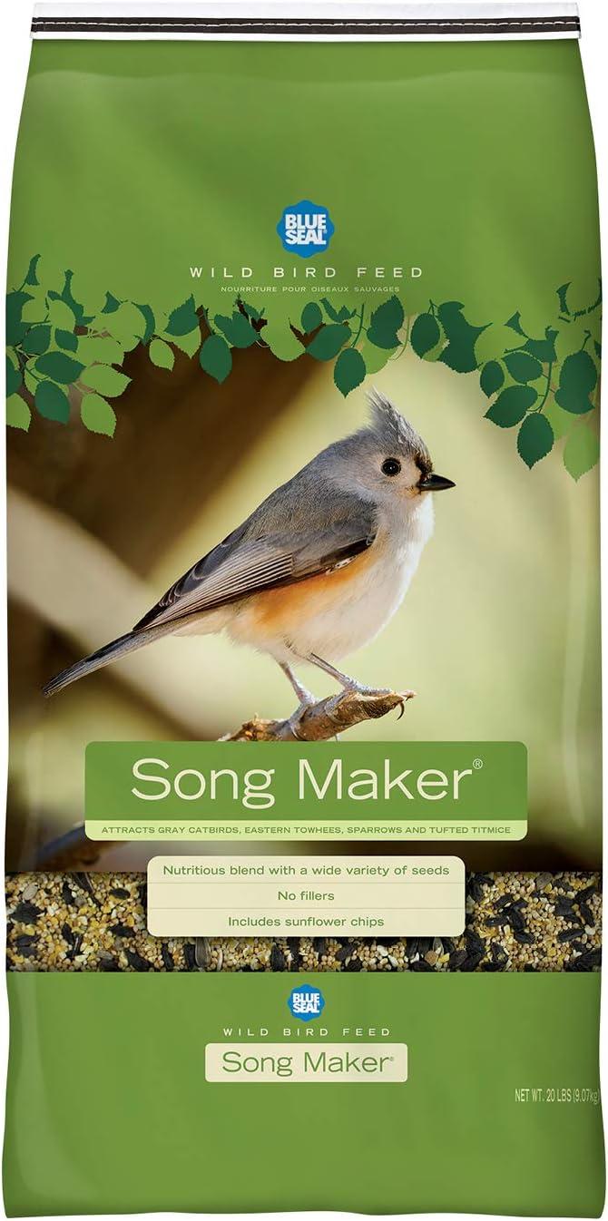 Song Maker Premium Bird Seed 20 LB Bag