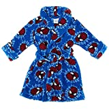 Spider-Man Toddler Blue Fleece Bathrobe Robe