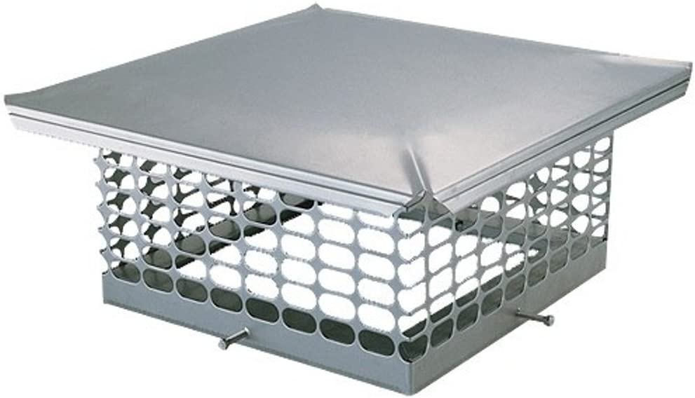 The Forever Cap CCSS2020 20 x 20-Inch Stainless Steel Single Flue Chimney Cap