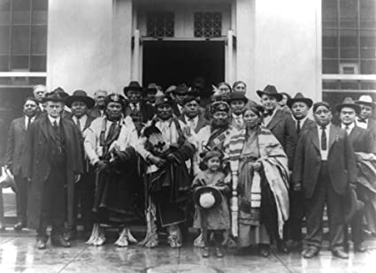 Amazoncom Group Of Osage Indians Outside White House Photograph