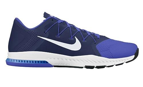 83e639f4a155 Nike Mens Zoom Train Complete Training Shoe Binary Blue White - Paramount  Blue -Tart