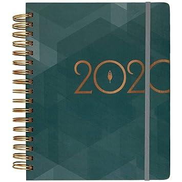 Amazon.com: inkWELL Press 2020 Planificador semanal y ...