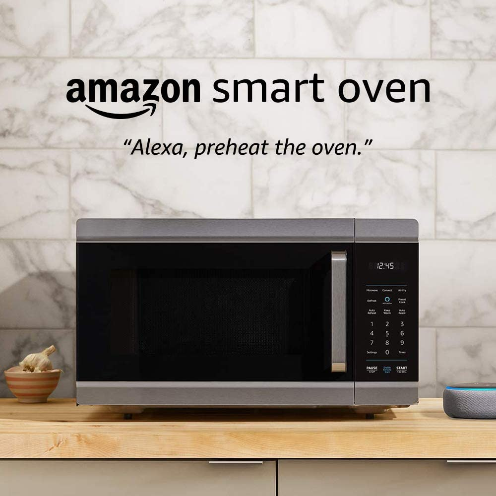 Amazon Smart Oven, a Certified for Humans device – plus Echo Dot